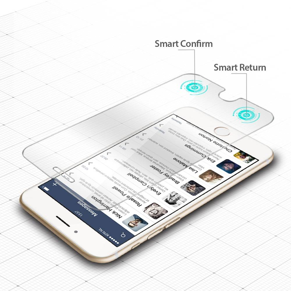 Smart Tempered Glass Screen Protectors for iPhone6 Plus