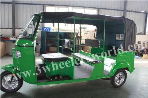 New Auto Rickshaw Tuk Tuk/Bajaj Three Wheeler Price from China Top Manufacture