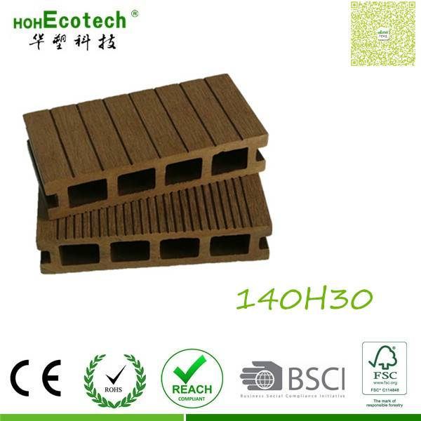composite wood deck flooring highly workable wpc paving