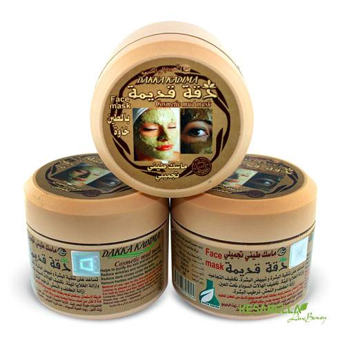 Aleppo mud facial mask