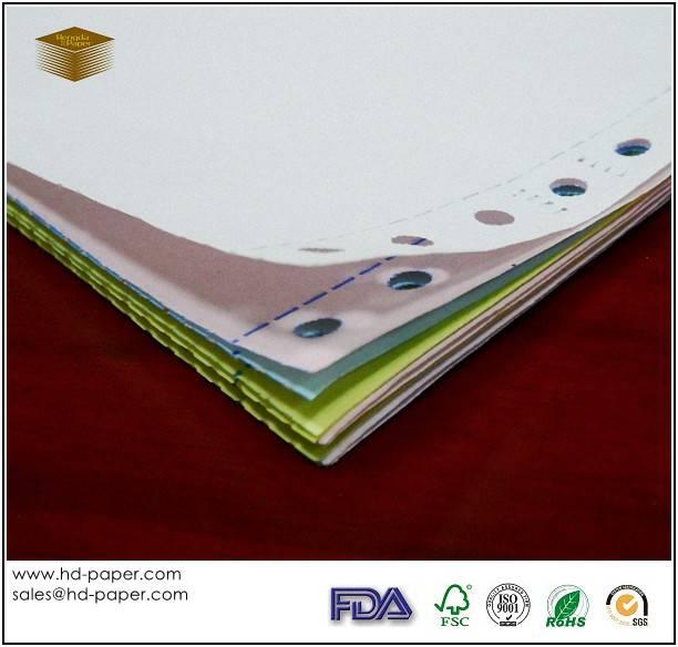 Carbonless Form Paper