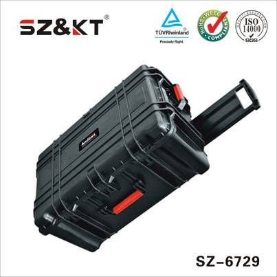 Waterproof high impact large hard cases for equipment