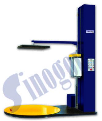 TP1650F-D Auto Pre-stretch Wrapper With Top Plate