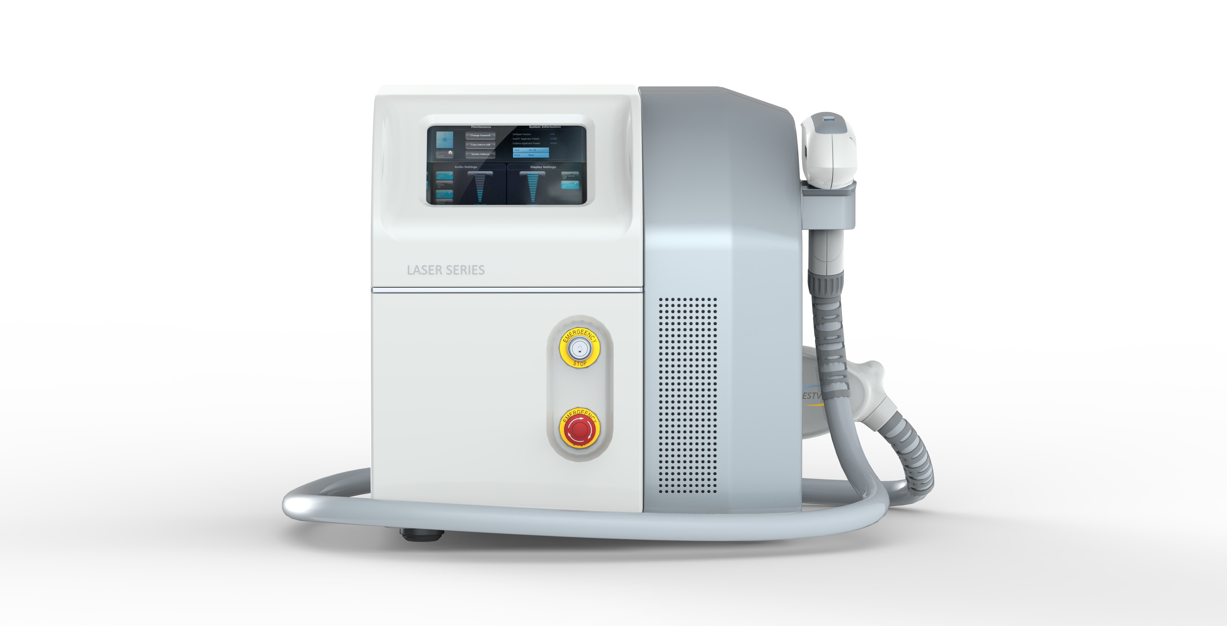 Good effect Q-Switched Nd Yag Laser Tattoo Removal Machine for sale