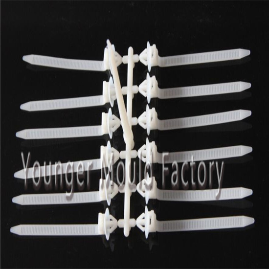 nylon cable tie plastic injection mould molds