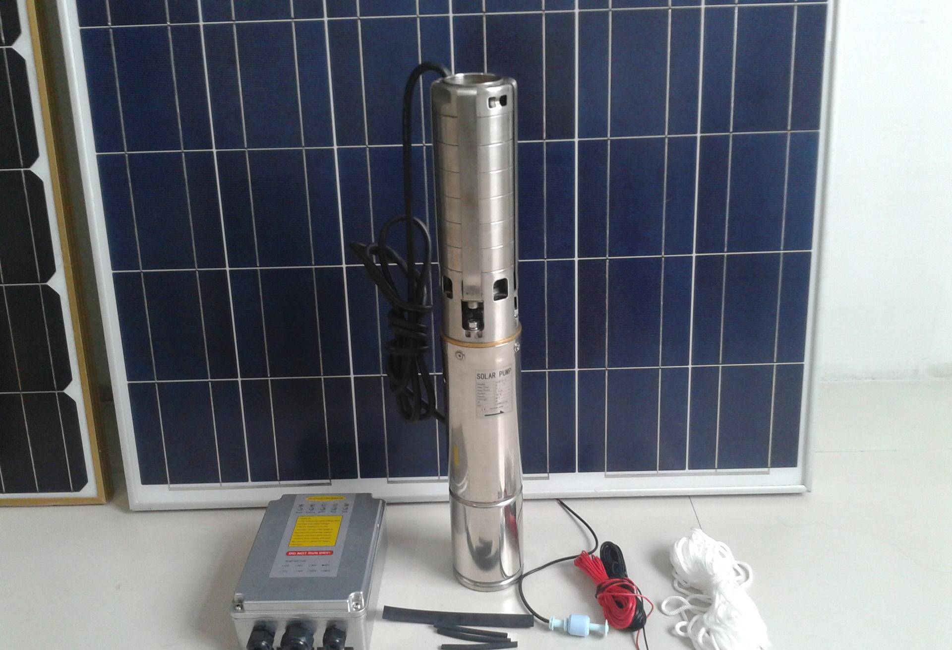 solar submersible pump for bore well solar system pump