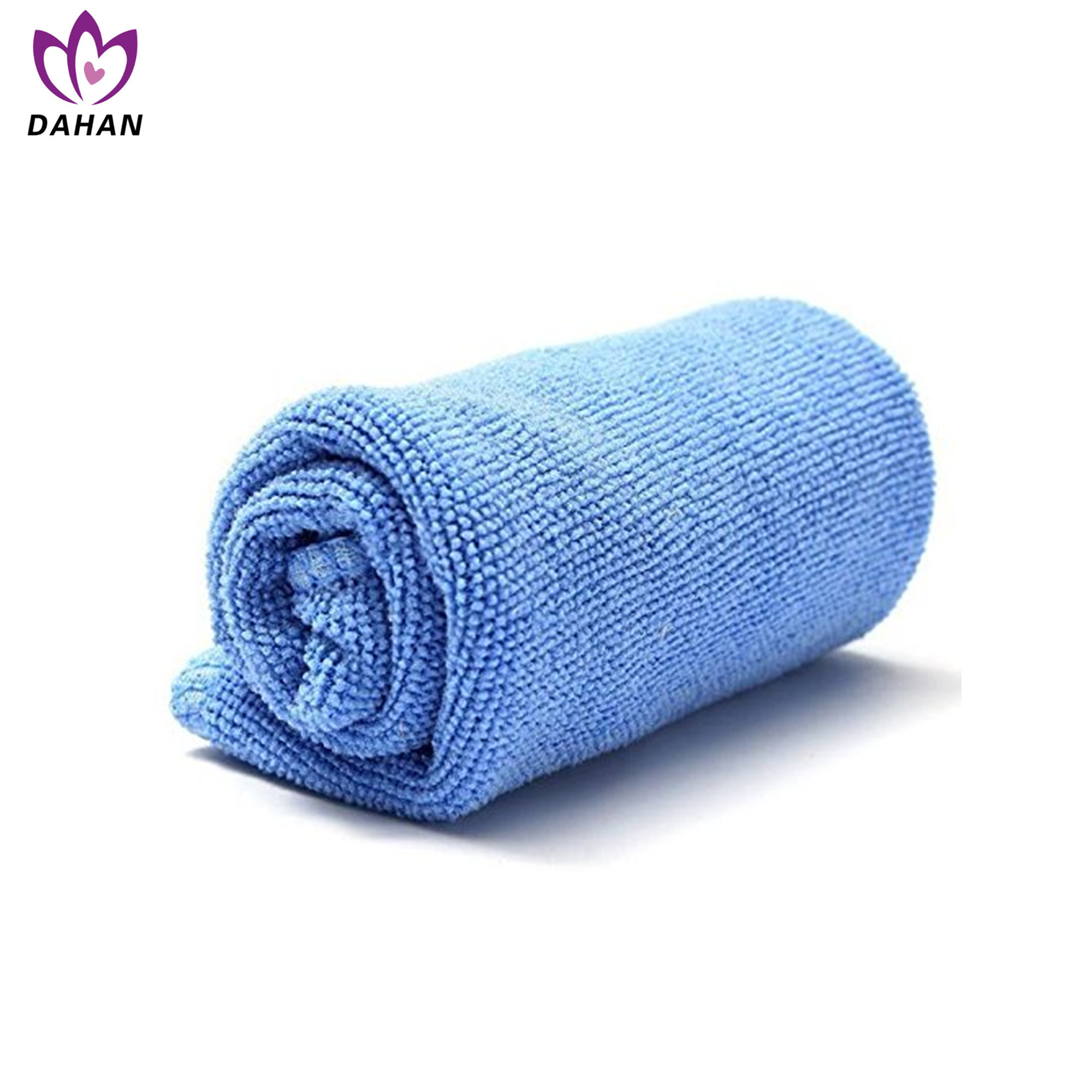 solid color fast dry microfiber towel
