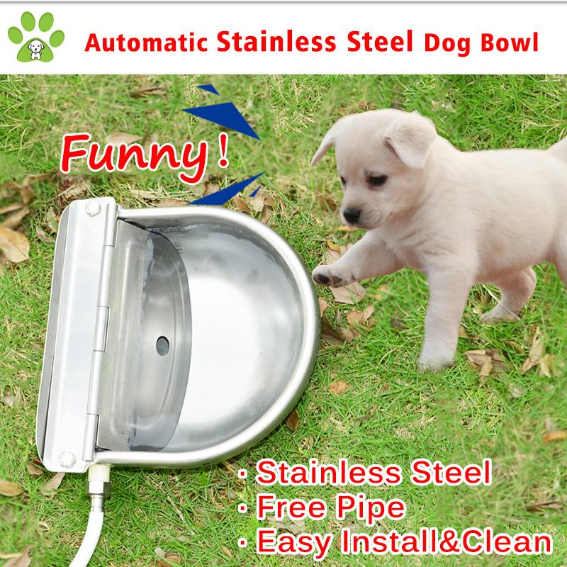 304 Stainless steel dog water applicance, stainless dog bowl