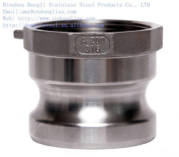 hot sale fuel line quick connector, type A cam and groove couplings