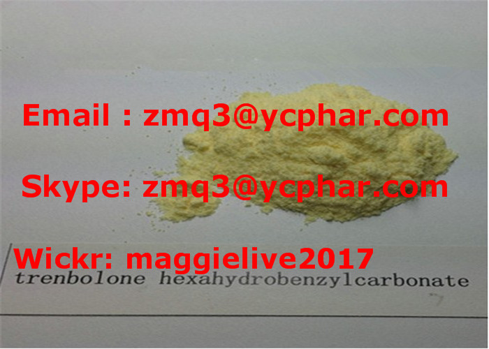 Steroid Trenbolone Hexahydrobenzyl Carbonate Powder CAS: 23454-33-3