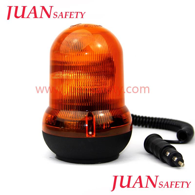 Amber Single Flashing Strobe Beacon Light with ECE R10 HTR-713Amber Single Flashing Strobe Beacon Li
