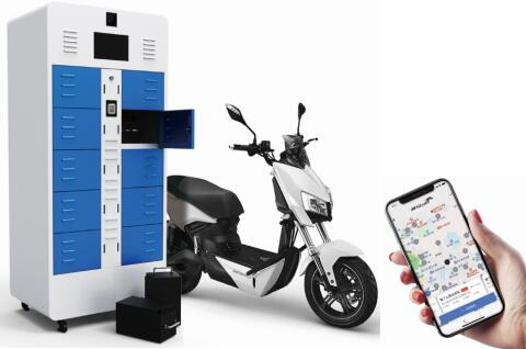 LEV Power Battery Lithium Battery Charging Swapping Cabinet With Intelligent Platform