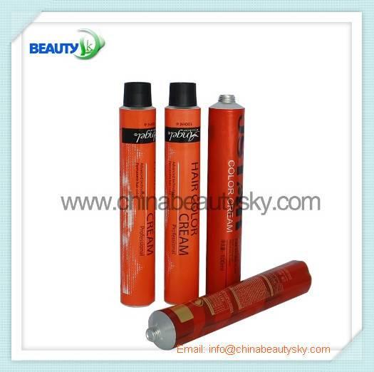Vietnam cosmetic tube in hair dye 60ml 28160mm