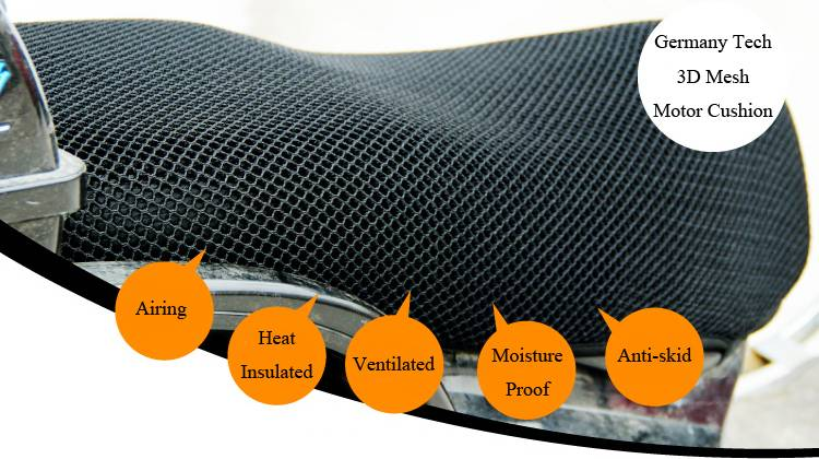 3D Mesh Motorcycle Cushion/Cover