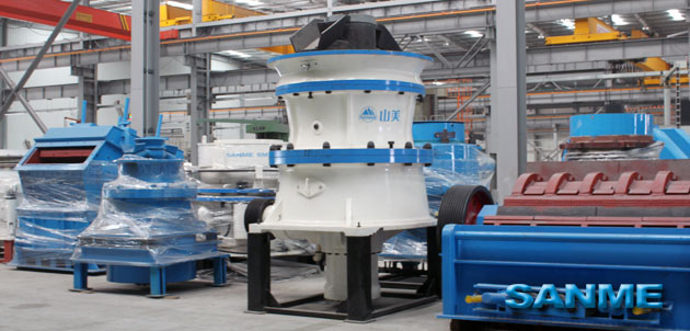 SMG Series Cone Crushers
