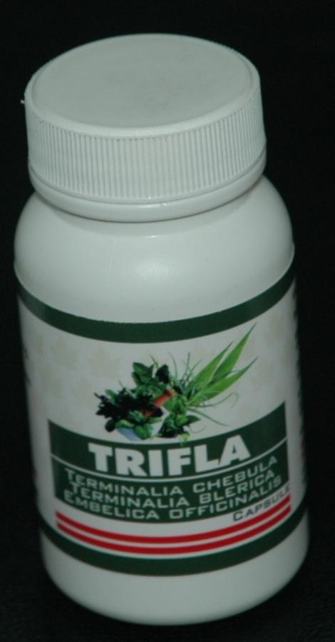 Trifala (Terminalia Chebula Terminalia Blarica Embelica Officinalis) Capsule (90 Capsules)