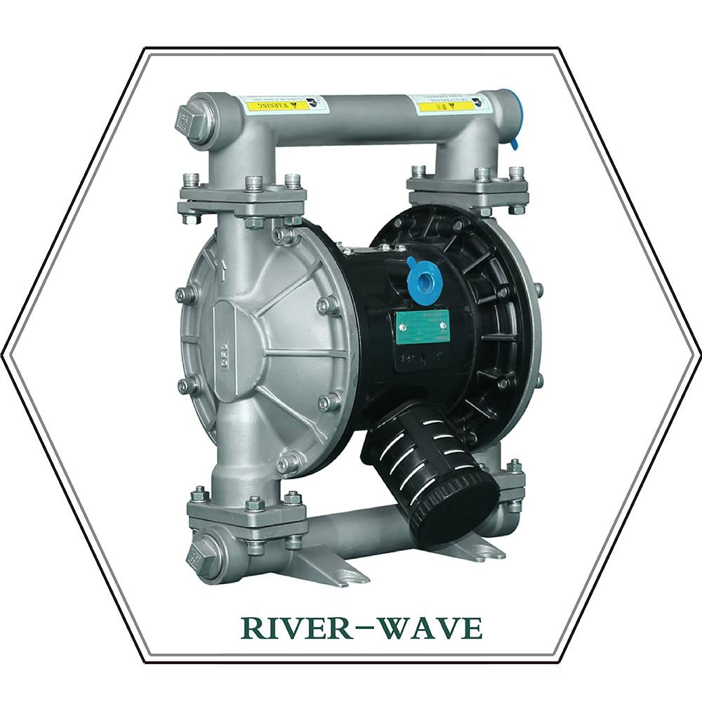 RV 25 Pneumatic Diaphragm Pump (metal)