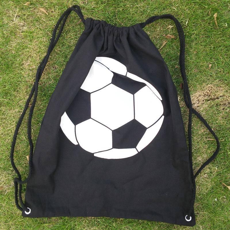 Monogram Blanks Football Print kit bag &Sports Team Bag