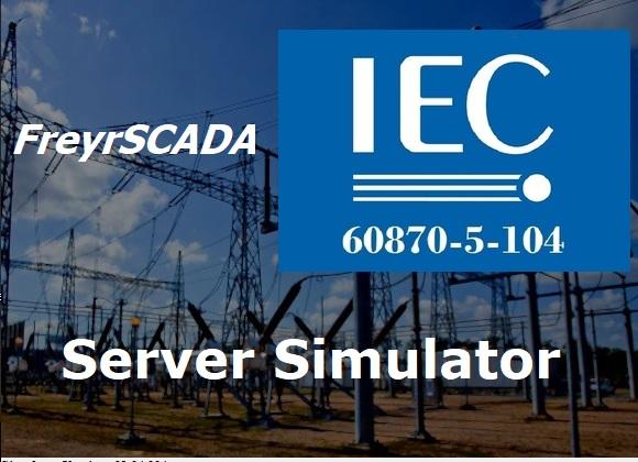IEC 60870-5-104 Server Simulator - FreyrSCADA Embedded Solution Pvt