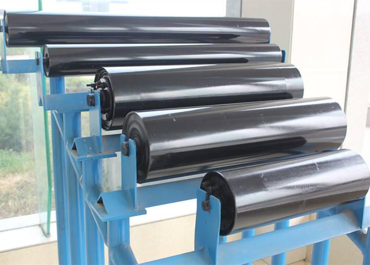 LIBO long life material handling equipment Belt conveyor return Roller idler or carrier roller