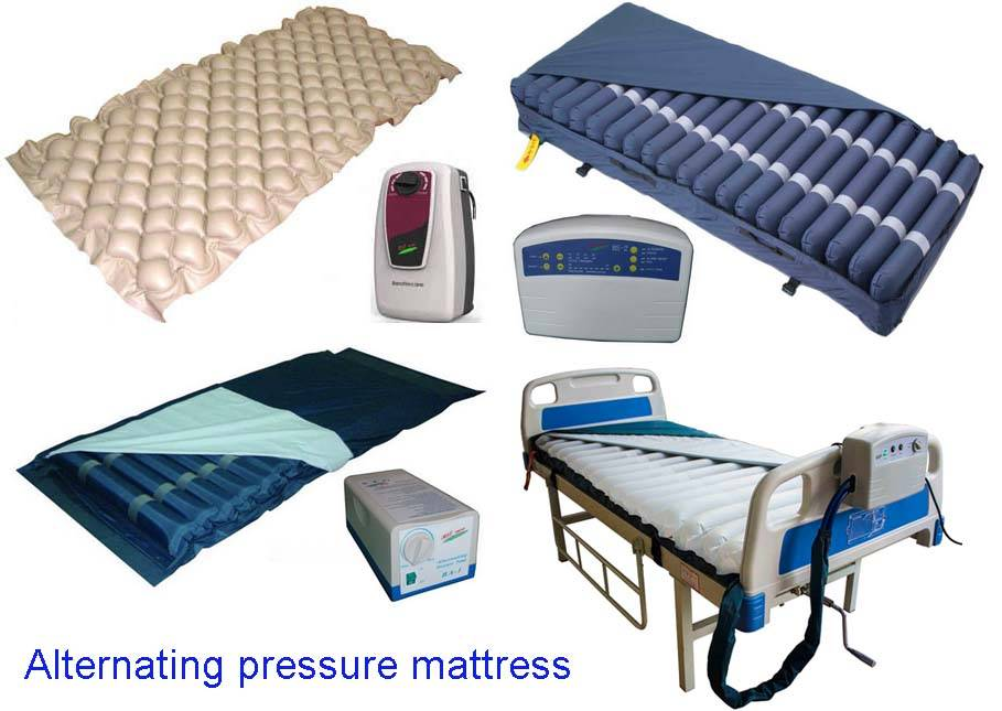 Alternating pressure mattress, Tubular Mattress,Mechono Therapy Appliance,