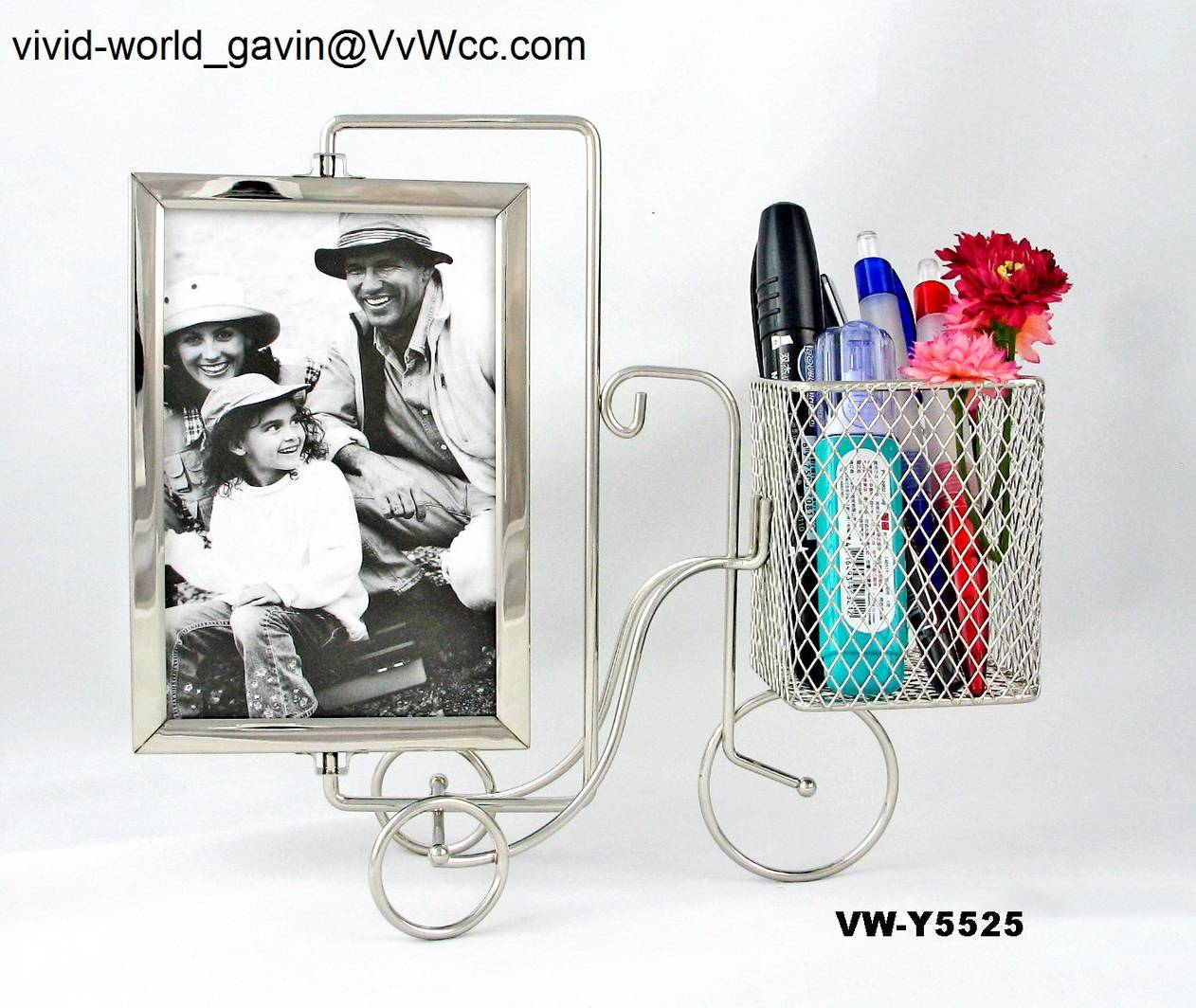 Home decorative metal gift and craft of photo frame&picture frame