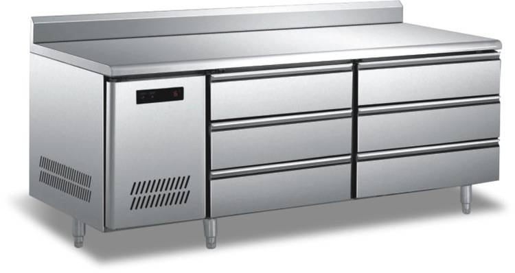 High Quality Stainless Steel Worktable Refrigerator/freezer