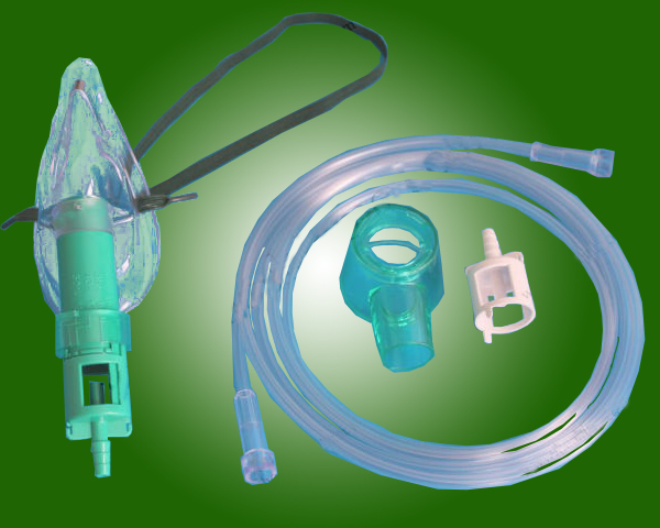 Disposable Medical Oxygen venturi mask II with CE and ISO