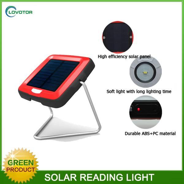 New product beautiful design eye protecting led solar magic light, solar desk lamp