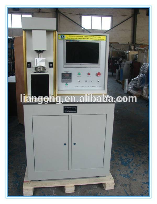 Microcomputer controlled electro hydraulic servo four ball friction and wear testing machine