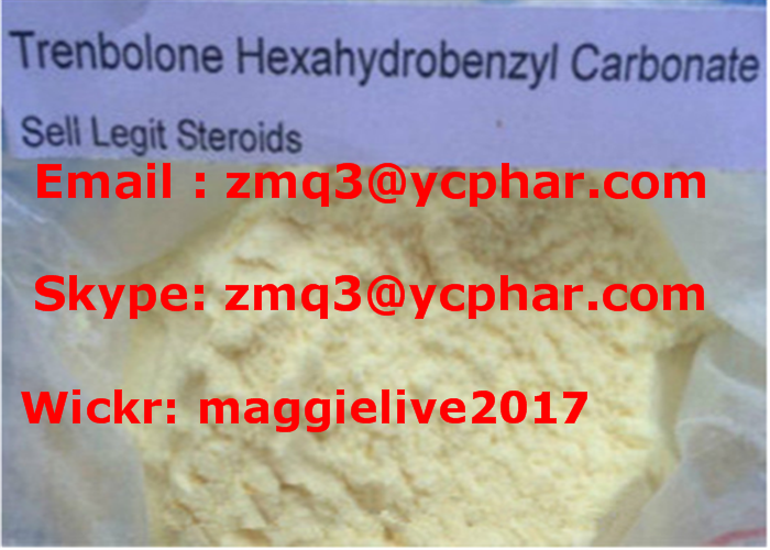 Bulking Steroid Parabolan Trenbolone Hexahydrobenzyl Carbonate for Muscle Building