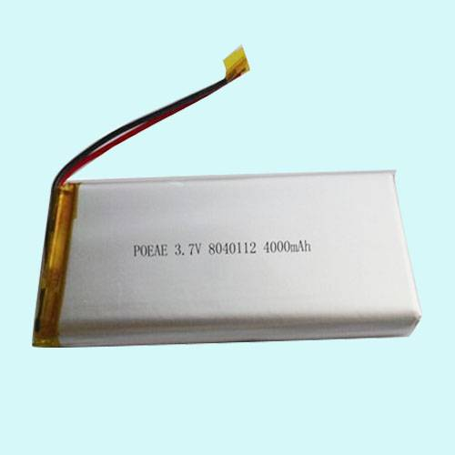 3.7V 4000mah Polymer Li-ion Battery