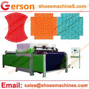 Polyester Viscose Fabric Die Cutting Machine