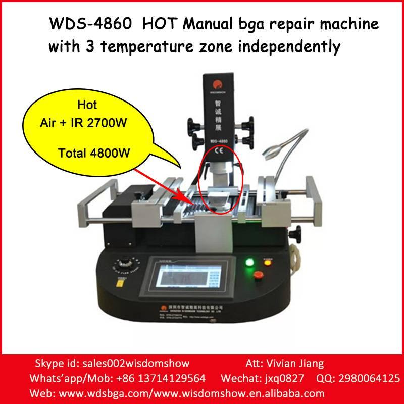 Hot Manual BGA Machine WDS-4860 Laptop/Computer Motherboard Repairing Machine Work For All Kind Bran