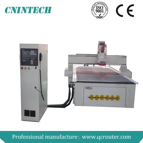 2014 hot sale!!!Jinan INtech low cost QC1325 ATC cnc router machine router cnc