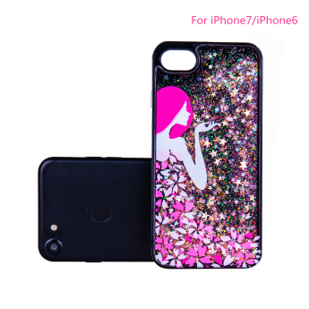 Best selling items mobile phone shell for iphone 7, clear transparent crystal tpu hard cover phone c