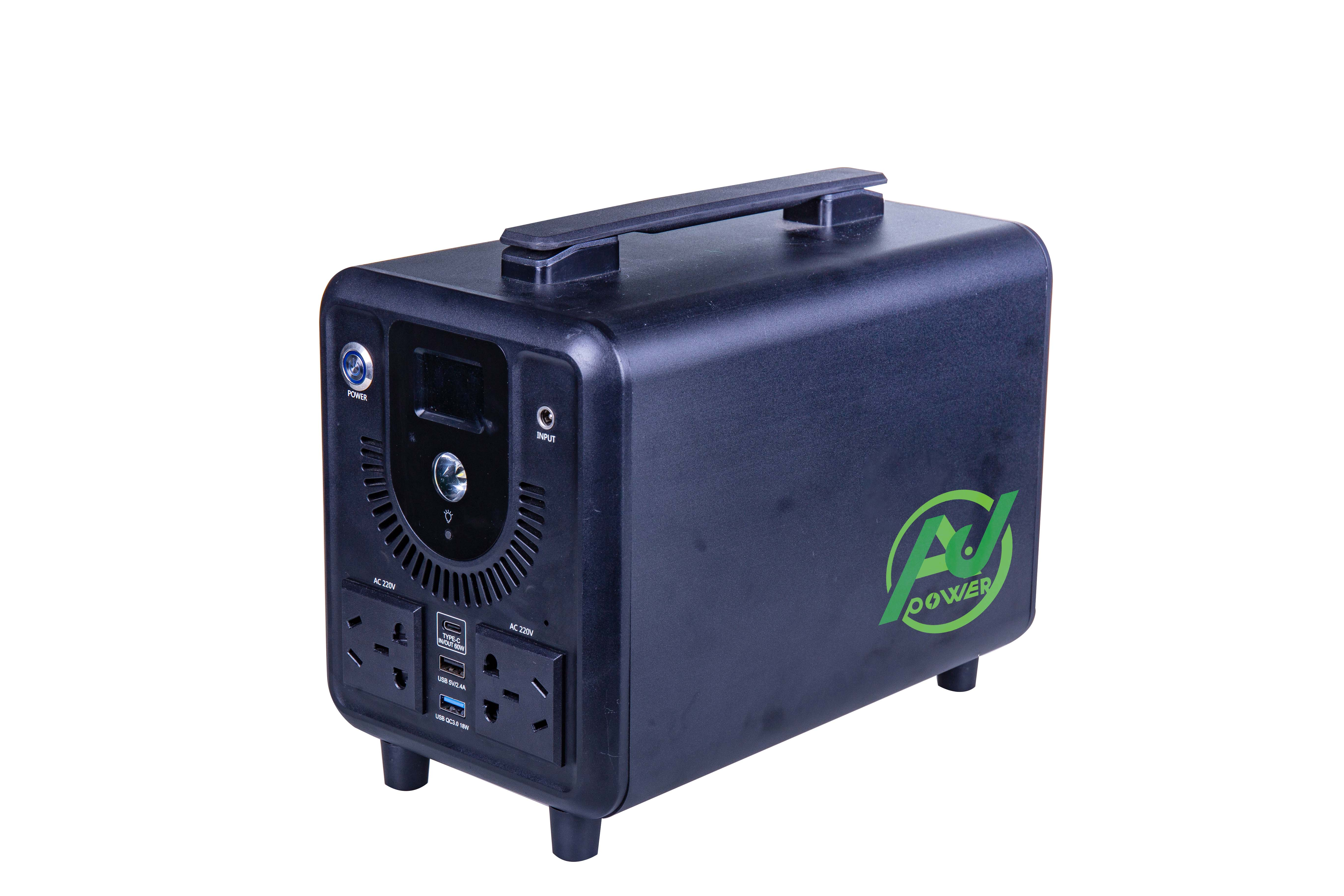 Smart portable power station 300W for outdoor use
