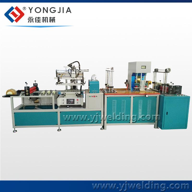 HF blood bag making machine