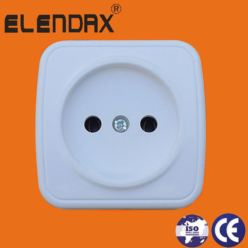 EU 10A 2 pin socket outlet(S6009)