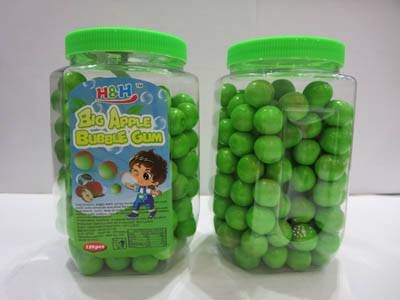 Halal Apple bubble gum/chewing gum candy in bulk