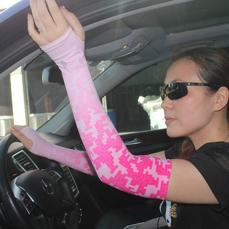 nylon arm sleeves seamless latest fashion bicycle