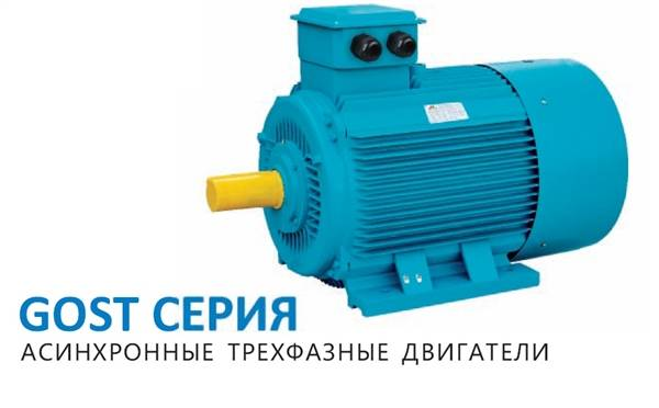 GOST Standard Electric Motor(Russian)