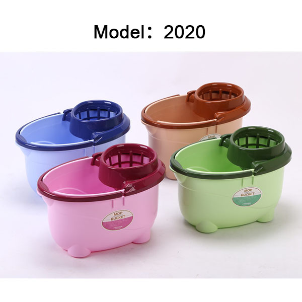 High quality household plastic mop bucket