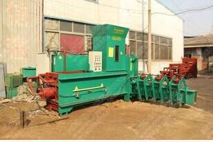 YZ3-200X peanut shells hydraulic briquetting machine  machinery specialized in the production of blo