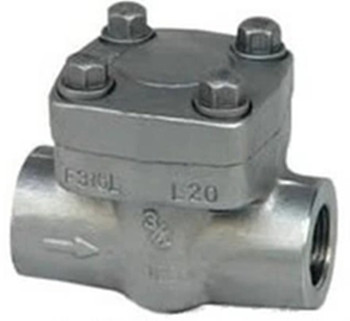 API 602 Forged Steel Spring Lift Piston Check Valve H11Y
