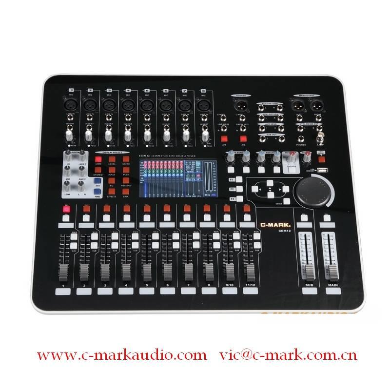 12 Channel Digital Mixer CDM12