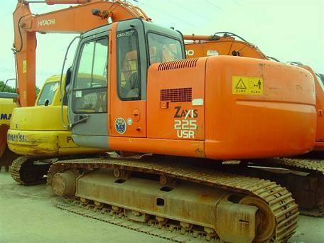 Used Hitachi ZAX225U Excavator