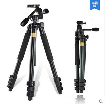 Q620 camera tripod with 3 way pan-head