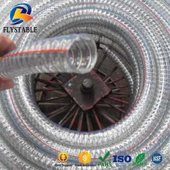 High temperature 175 Celsius PVC steel wire pipe