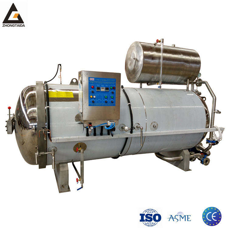 High Temperature Water Spray Autoclave Sterilizer